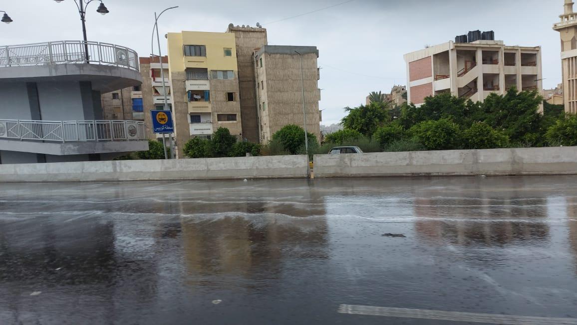 هطول أمطار غزيرة وسط الإسكندرية  (9)