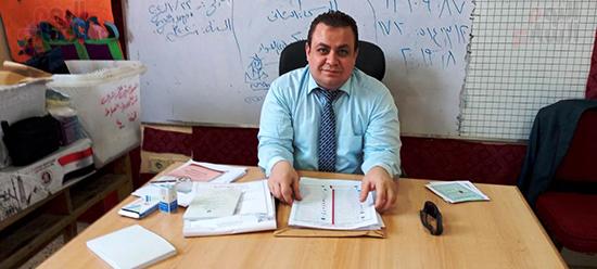 القضاة المشرفين علي الانتخابات في العياط