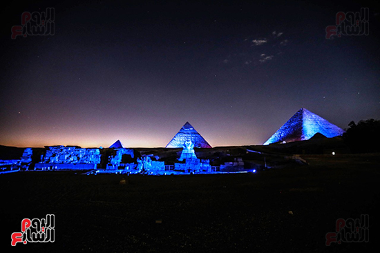 احتفال الأمم المتحدة فى الاهرامات