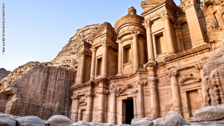 البتراء فى الأردن