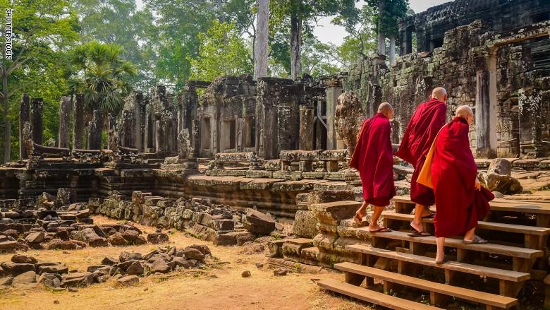 معابد أنجكور فى كمبوديا