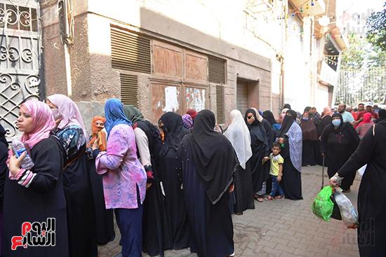 انتخابات النواب بلجنة كلية الطفولة في الدقى (16)