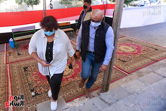 الدكتورة إيناس عبد الدايم وزيرة الثقافة  (2)