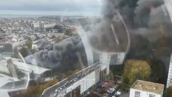 حريق جديد في فرنسا
