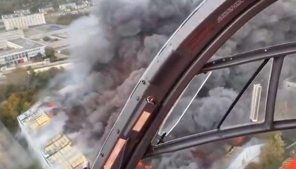 حريق في فرنسا