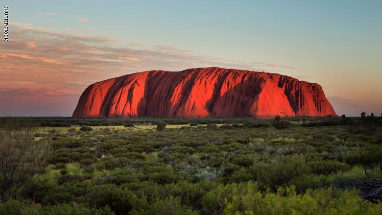 منتزه أولورو - كاتا تجوتا الوطني فى أستراليا