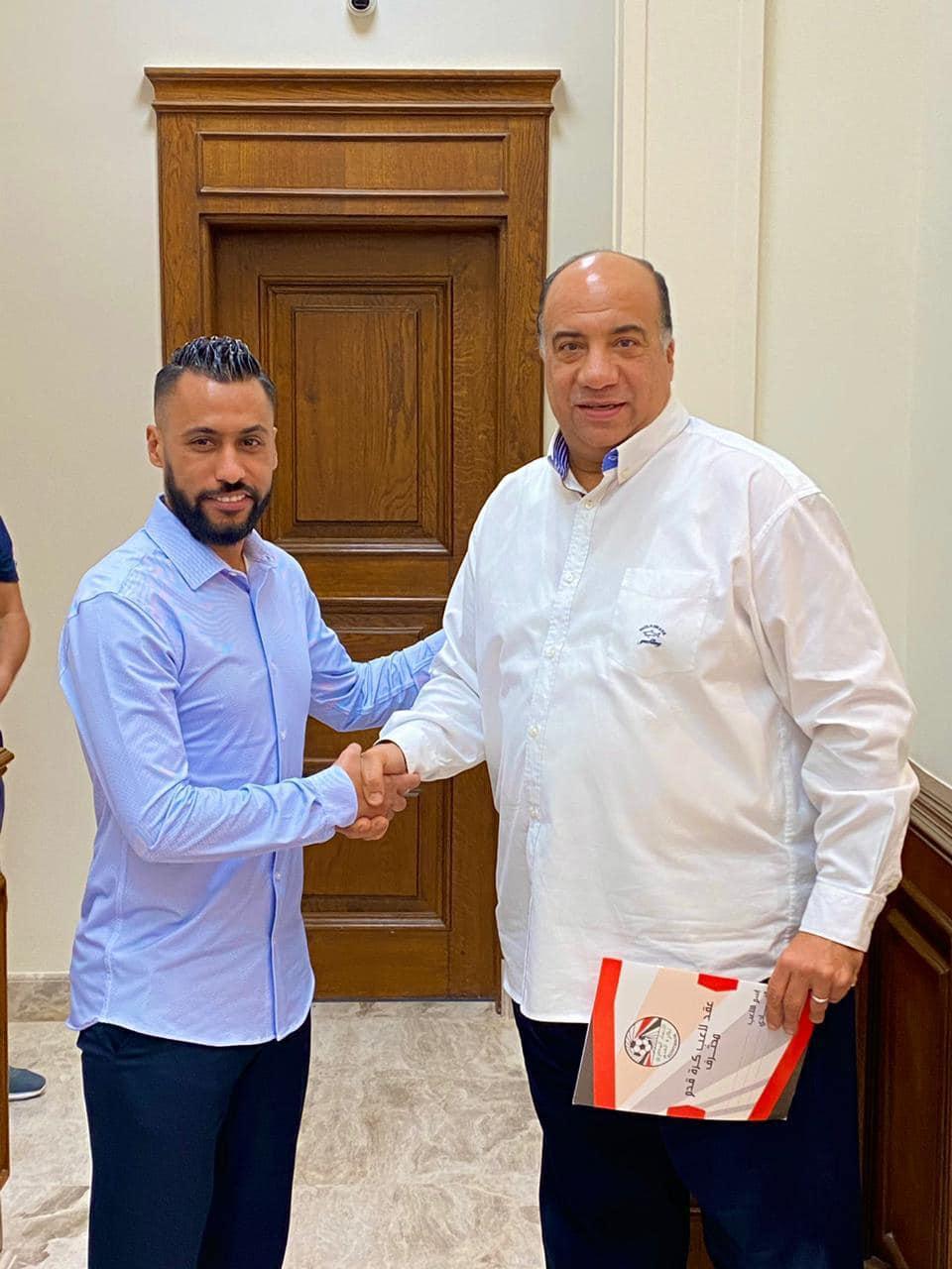 الاتحاد السكندرى يعلن التعاقد رسميا مع حسام عاشور  (2)