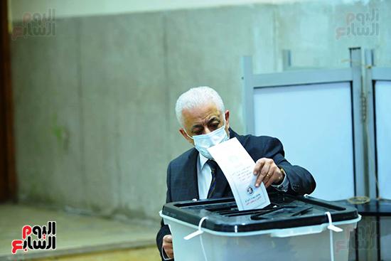 طارق شوقى انتخابات مجلس النواب (6)