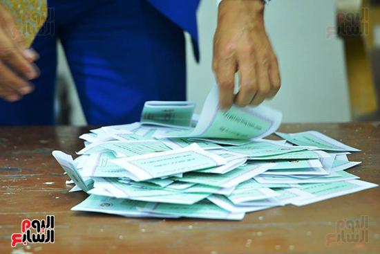 بطاقات اقتراع