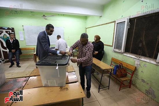 غلق صناديق اقتراع انتخابات مجلس النواب