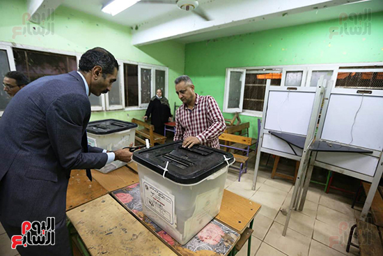 انتهاء تصويت المرحلة الأولى لانتخابات النواب