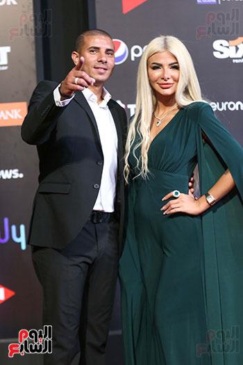 محمد زيدان وزوجته (2)