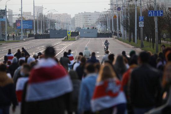 مظاهرات المعارضة فى بيلاروسيا (2)