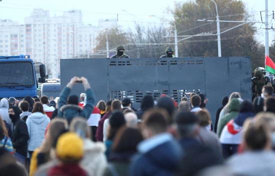 مظاهرات المعارضة فى بيلاروسيا (3)