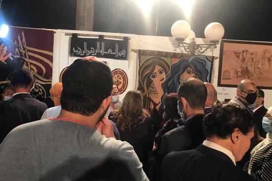 وزيرة الثقافة تفتتح الدورة الـ13 لمهرجان الحرف التراثية  (1)