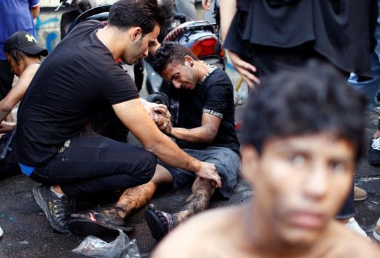 اندلاع مظاهرات جديدة وأعمال عنف بالعراق (6)