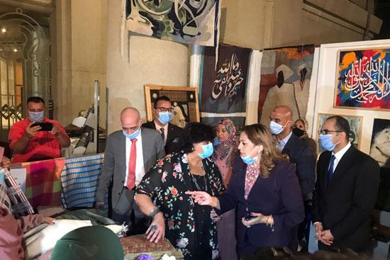 وزيرة الثقافة تفتتح الدورة الـ13 لمهرجان الحرف التراثية  (5)