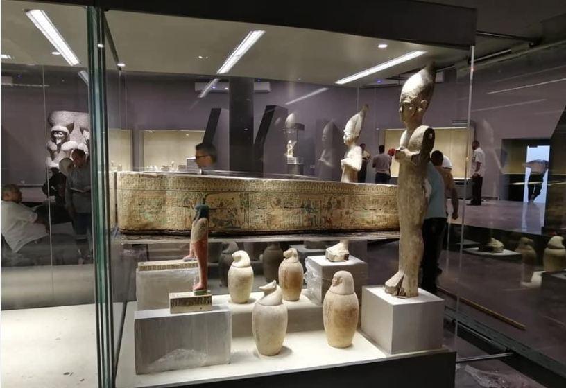 مقتنيات متحف الحضارة (1)