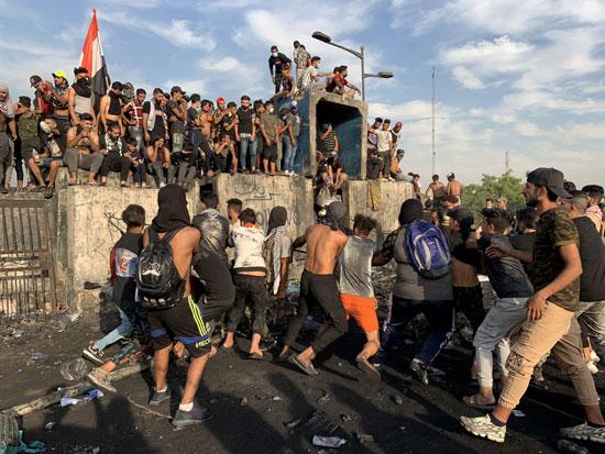 اندلاع مظاهرات جديدة وأعمال عنف بالعراق (3)