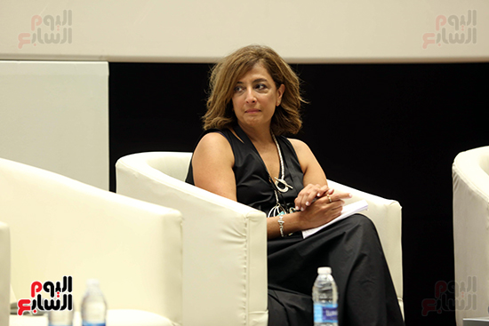 ندوة تمكين المرأة بمهرجان الجونة السينمائي (9)
