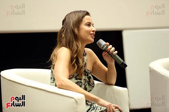 ندوة تمكين المرأة بمهرجان الجونة السينمائي (11)