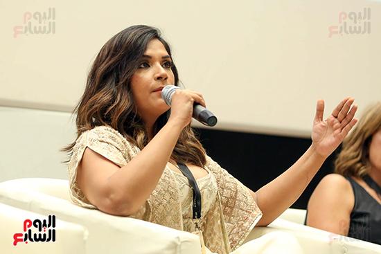 ندوة تمكين المرأة بمهرجان الجونة السينمائي (24)