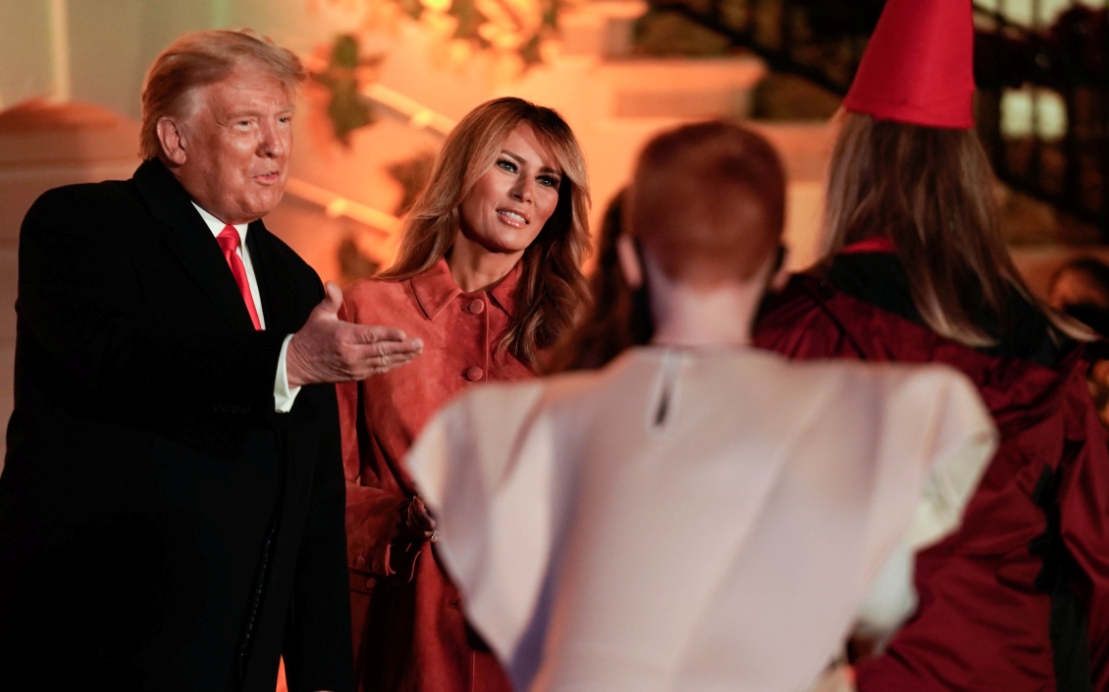 ترامب يرحب بالحضور