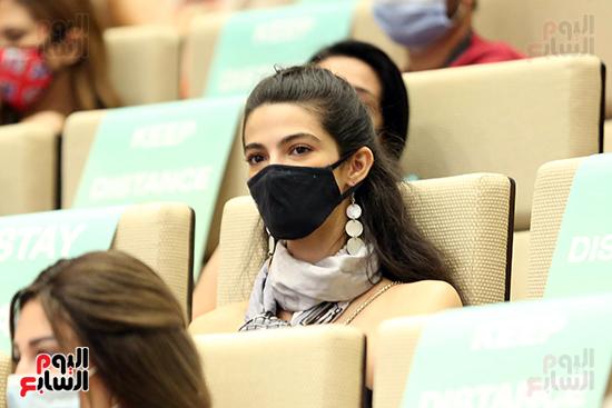ندوة تمكين المرأة بمهرجان الجونة السينمائي (14)