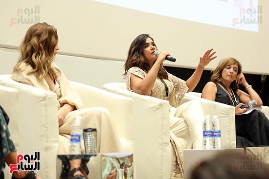 ندوة تمكين المرأة بمهرجان الجونة السينمائي (22)