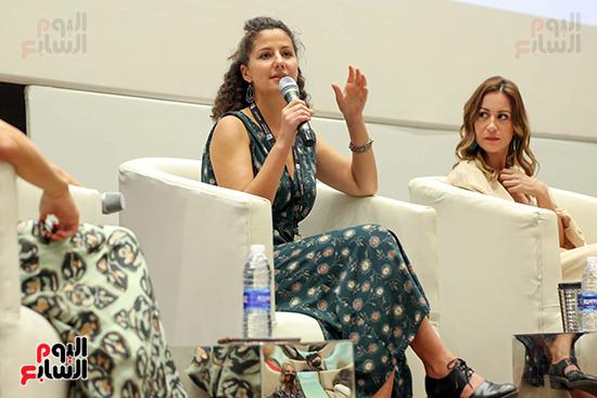 ندوة تمكين المرأة بمهرجان الجونة السينمائي (16)