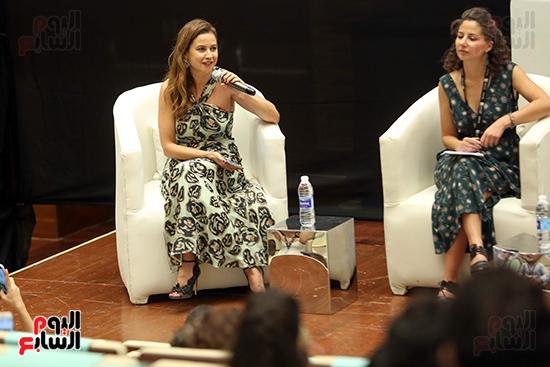 ندوة تمكين المرأة بمهرجان الجونة السينمائي (8)