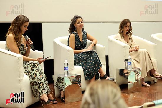 ندوة تمكين المرأة بمهرجان الجونة السينمائي (10)