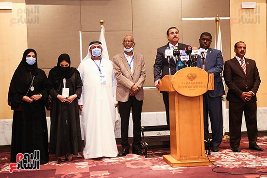 مؤتمر للبرلمان العربى للاعلان عن النتائج البرلمانية (3)
