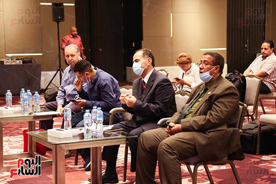 مؤتمر للبرلمان العربى للاعلان عن النتائج البرلمانية (11)