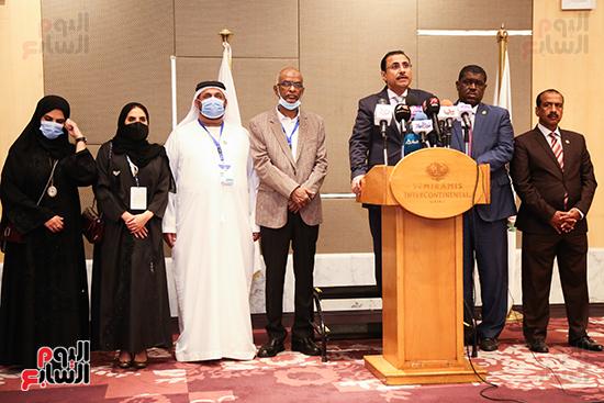 مؤتمر للبرلمان العربى للاعلان عن النتائج البرلمانية (7)