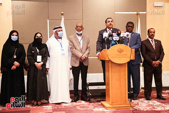 مؤتمر للبرلمان العربى للاعلان عن النتائج البرلمانية (4)