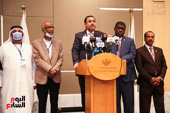 مؤتمر للبرلمان العربى للاعلان عن النتائج البرلمانية (6)