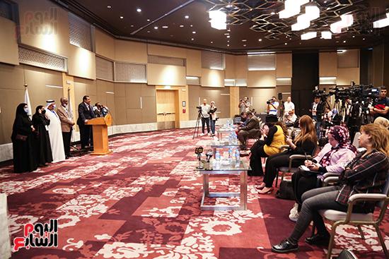 مؤتمر للبرلمان العربى للاعلان عن النتائج البرلمانية (1)