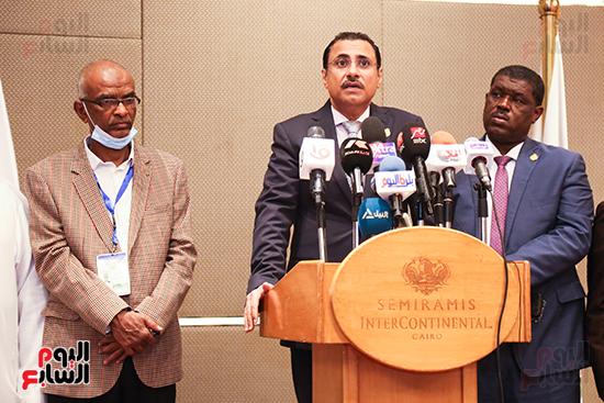 مؤتمر للبرلمان العربى للاعلان عن النتائج البرلمانية (10)