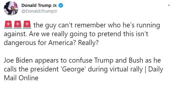 نجل ترامب