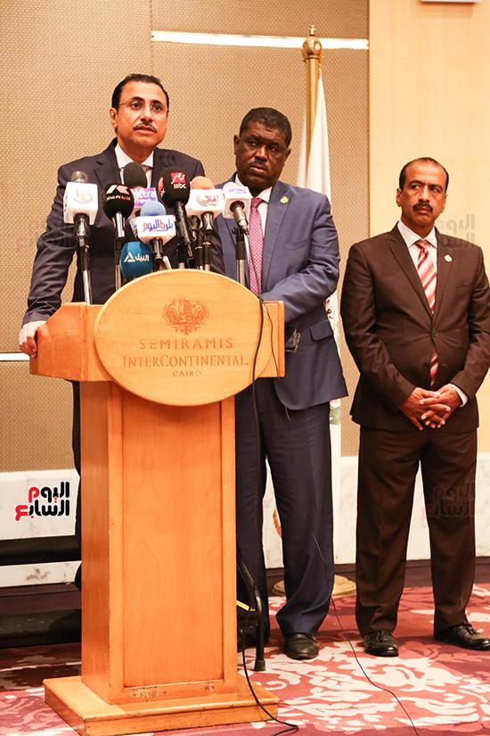 مؤتمر للبرلمان العربى للاعلان عن النتائج البرلمانية (9)