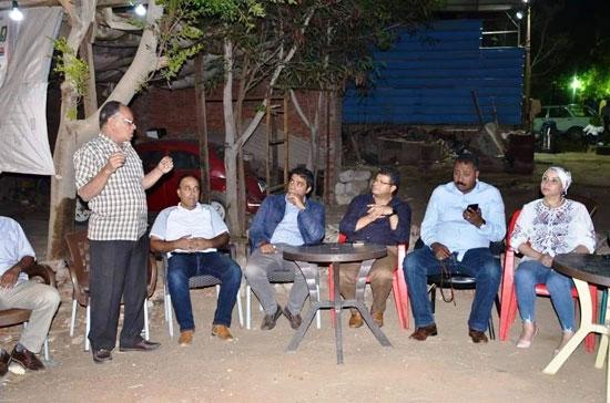 لقاءات مكثفة للنائب محمد الحناوي (8)