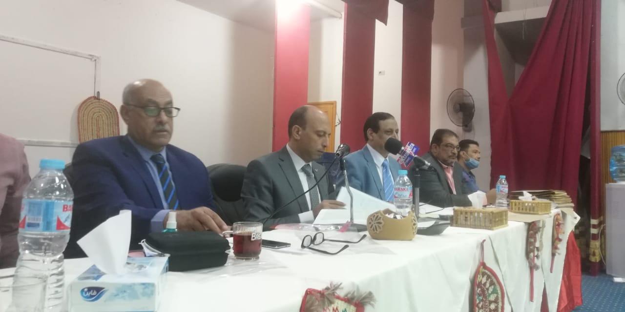 اللجنة العامة لدائرة الخارجة بالوادى الجديد (2)