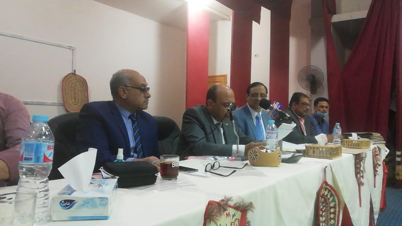 اللجنة العامة لدائرة الخارجة بالوادى الجديد (1)