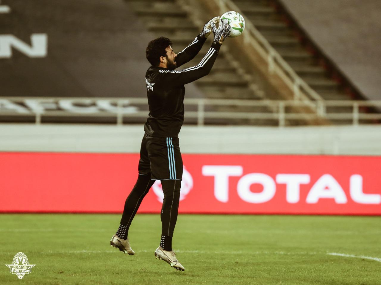 المهدى سليمان قبل المباراة