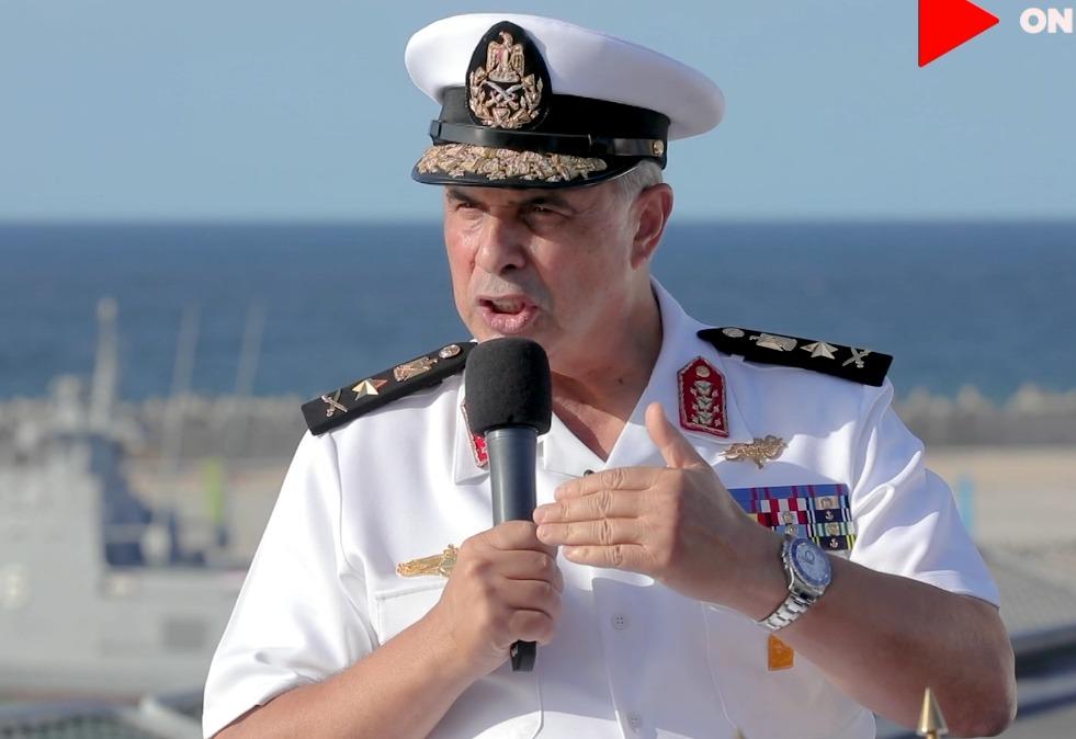 الفريق أحمد خالد قائد القوات البحرية (1)