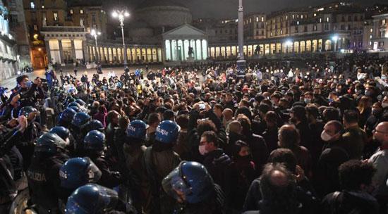 ايطاليا ومظاهرات
