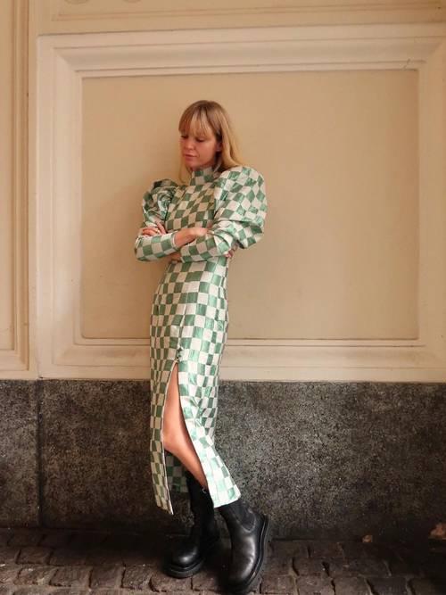 الفستان الشطرنج