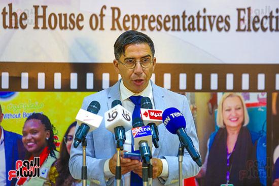 اعضاء البعثة الدولية لمراقبة الانتخابات (1)