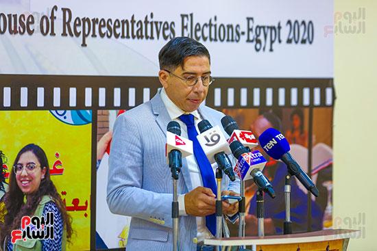 اعضاء البعثة الدولية لمراقبة الانتخابات (10)